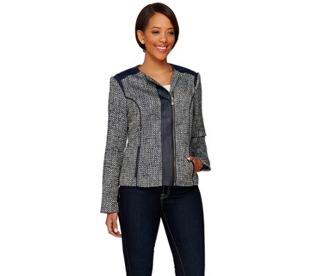"""As Is"" Liz Claiborne New York Collection Tweed Jacket"