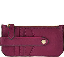 Aimee Kestenberg Pebble Leather RFID Credit Card Holder - A290981