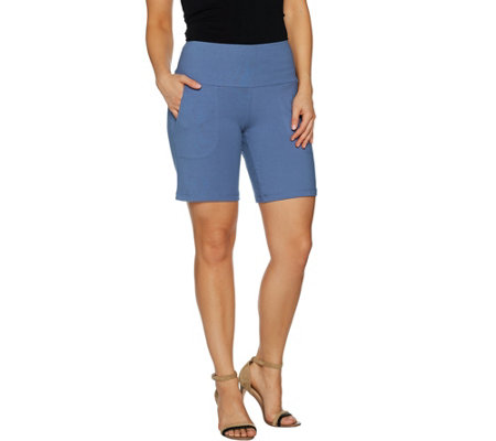Women with Control Tummy Control Shorts with Pockets