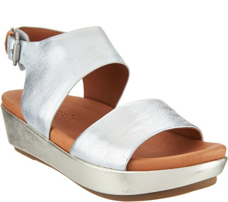Gentle Souls Leather Platform Sandals - Lori