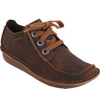 Clarks Artisan Leather Lace-up Shoes - Funny Dream - A295081