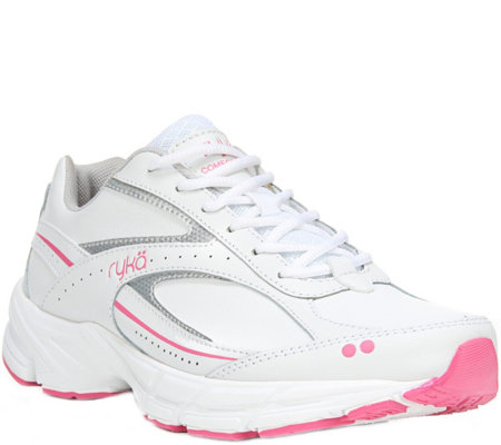 Ryka Lace-up Walking Sneakers - Comfort Walk