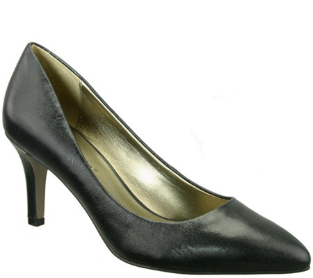 David Tate Leather Pumps - Opera 1