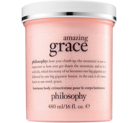 philosophy luminous body creme, 16 oz