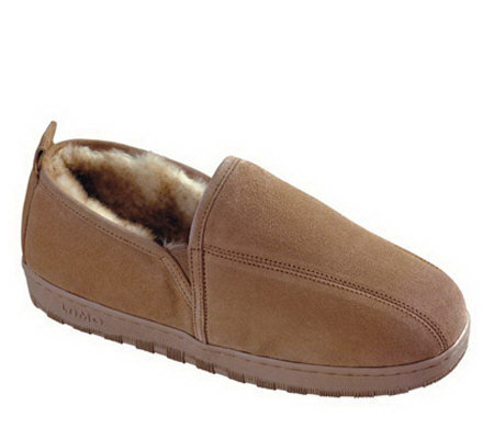 Lamo Men's Sheepskin Romeo Slippers