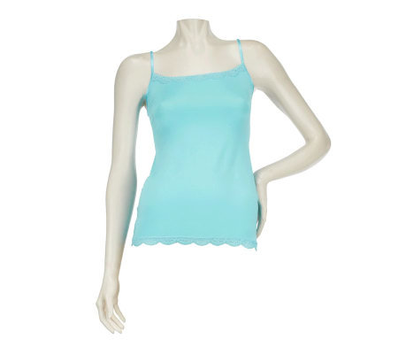 Jockey No Panty Line Promise Camisole with Lace Trim