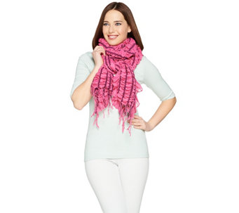 Layers by Lizden Smocked Wrap with Ruffled Edge - A230082