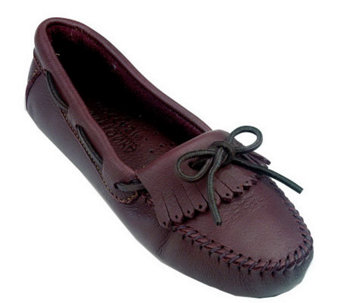Minnetonka Leather Moccasins - MoosehideDriver - A245582