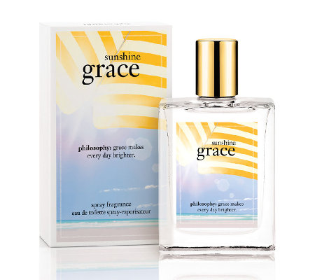 philosophy sunshine grace spray fragrance 2 oz. edt