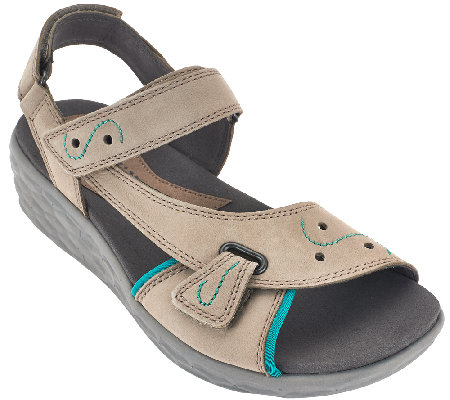 Cobb Hill by New Balance Leather Strap Sandals - Fresh Star