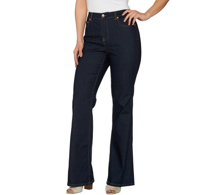C. Wonder Petite Functional 5-Pocket Flare Leg Jeans