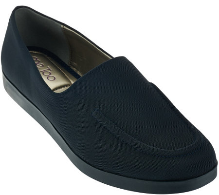 """As Is"" Me Too Stretch Slip-on Loafers - Baylee"