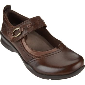 Earth Leather Mary Janes - Angelica