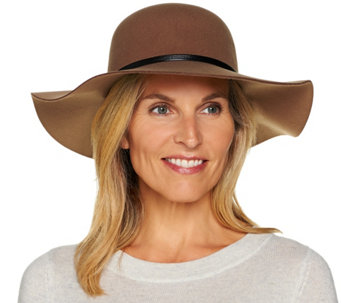 San Diego Hat Felt Crown Floppy Brim Hat - A284382
