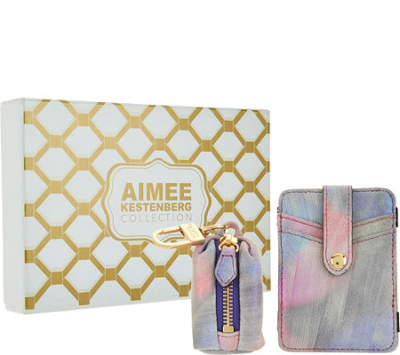 Aimee Kestenberg Magic Wallet & Key Chain Gift Set