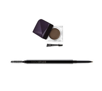 Fiona Stiles Brow Sculpting Wax & Micro- Precision Pencil Duo - A286882