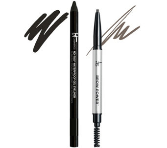 IT Cosmetics Brow Power & No Tug Eyeliner Duo Auto-Delivery - A287082