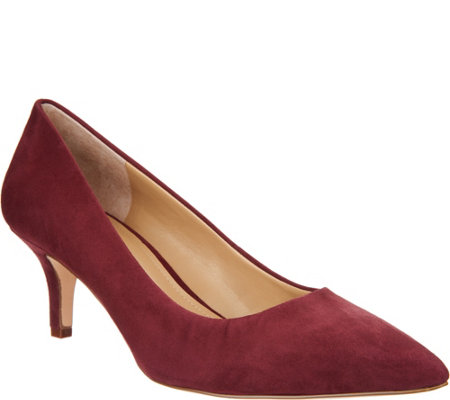 G.I.L.I. Pointed Toe Mid-heel Pumps - Georgette