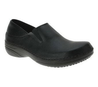 Spring Step Style Manila Leather Slip-On Shoes - A328682