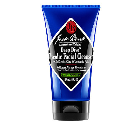 Jack Black Deep Dive Glycolic Facial Cleanser,5 oz