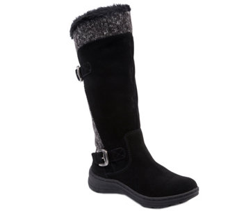 BareTraps Cold Weather Tall Leather Boots-Adalia - A355582