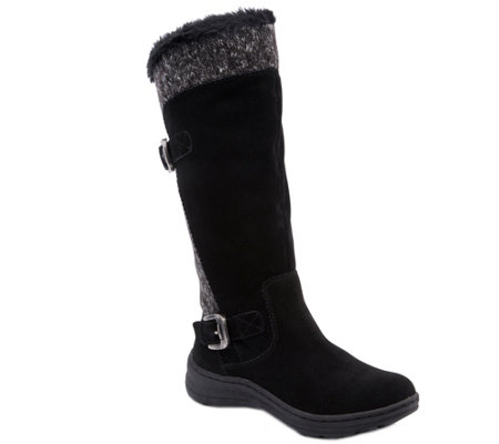 BareTraps Cold Weather Tall Leather Boots-Adalia