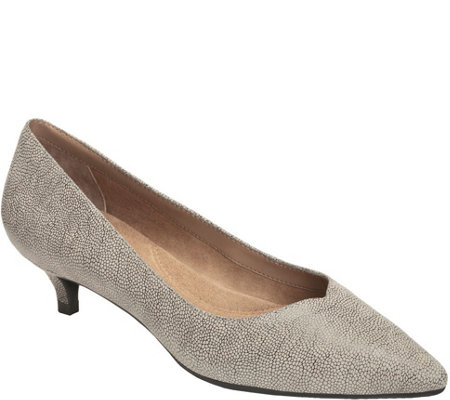 Aerosoles Kitten Heel Dress Pumps - Dress Code