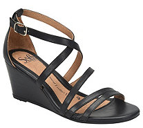 Sofft Leather Wedge Sandals - Mecina - A364982