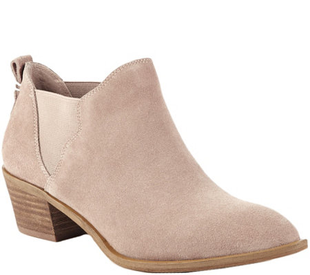 Sole Society Scalloped Gore Booties - Nancy