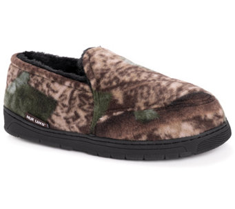 QuietWear Men's Camo Espadrille with Fur Lining - A170083