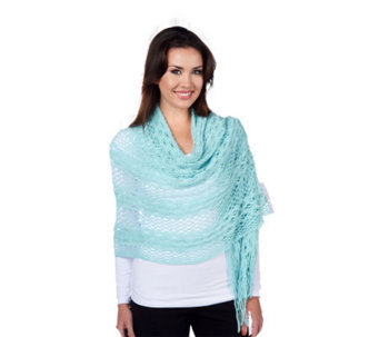 Layers by Lizden Open Crochet Scarf - A216883