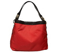 """As Is""JPKParis 75 Signature Fabric Small Sasha Hobo - A229183"