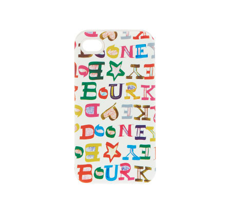 Dooney & Bourke iPhone Doodle Signature Case