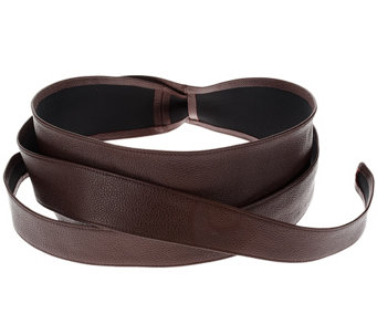 G.I.L.I. Leather Obi Wrap Belt - A254683