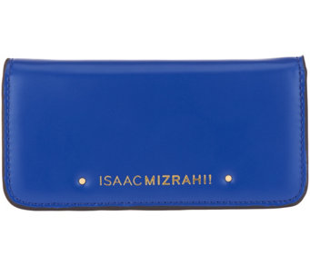 Isaac Mizrahi Live! Leather Phone Wallet - A262283