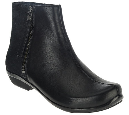 """As Is"" Dansko Leather or Suede Ankle Boots - Otis"