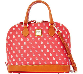 Dooney & Bourke MLB Cardinals Zip Zip Satchel - A280083