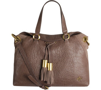 orYANY Lamb Leather Satchel Bag- Kacie - A281083