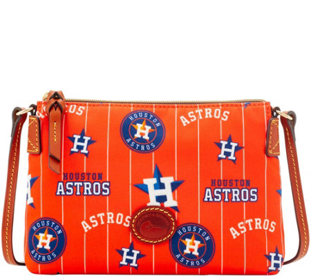 Dooney & Bourke MLB Nylon Astros Crossbody Pouchette