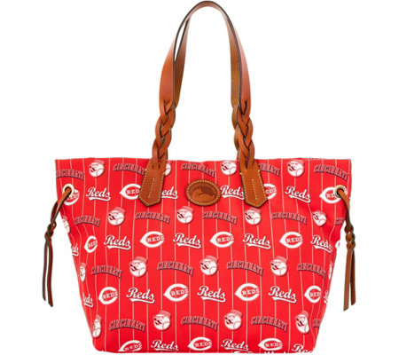 Dooney & Bourke MLB Nylon Reds Shopper