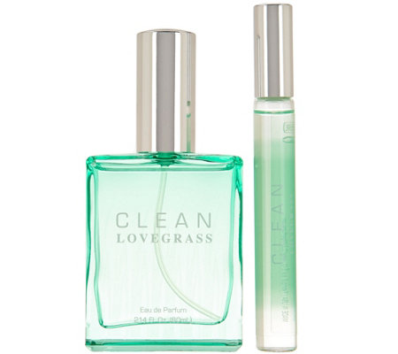 CLEAN Lovegrass Eau de Parfum & Rollerball Duo