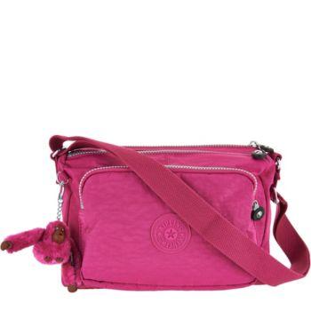 Kipling Nylon Adjustable Shoulder Bag - Reth