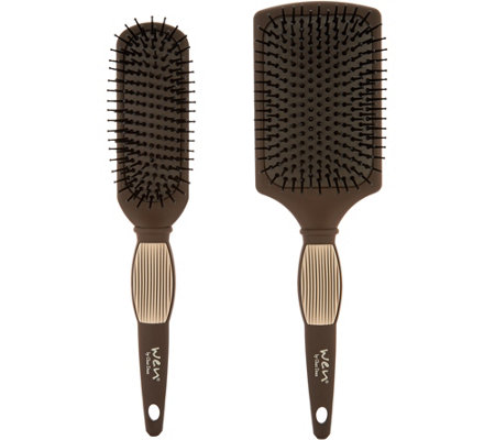 WEN by Chaz Dean Set of 2 Paddle & Sculpting Brushes