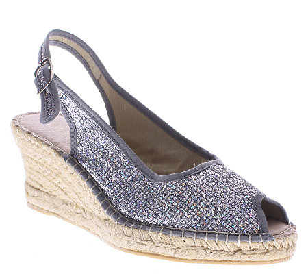 Azura by Spring Step Wedge Espadrille Sandals -Boltz