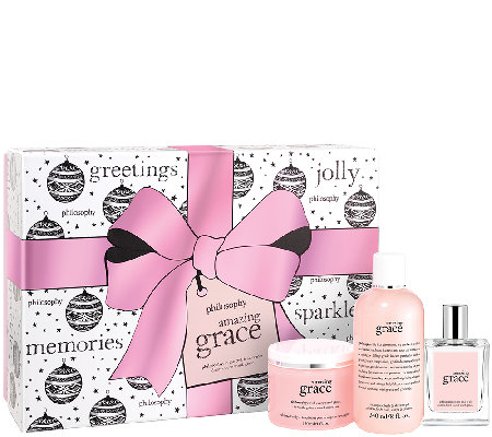 philosophy amazing grace holiday layering kit