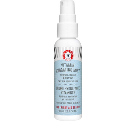 First Aid Beauty Vitamin Hydrating Mist, 2 oz