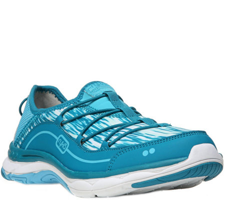 Ryka Lace-up Walking Sneakers - Feather Pace