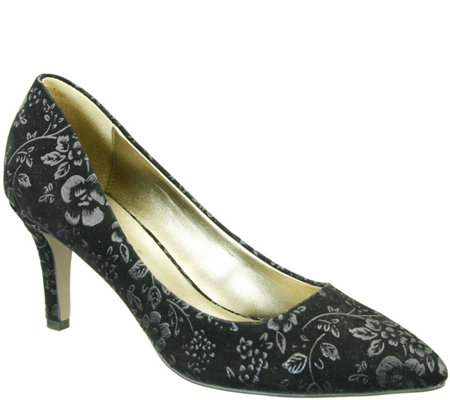 David Tate Floral Pumps - Opera 2