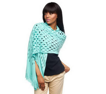 Layers by Lizden Marvelush Oval Patterned Wrap - A230084