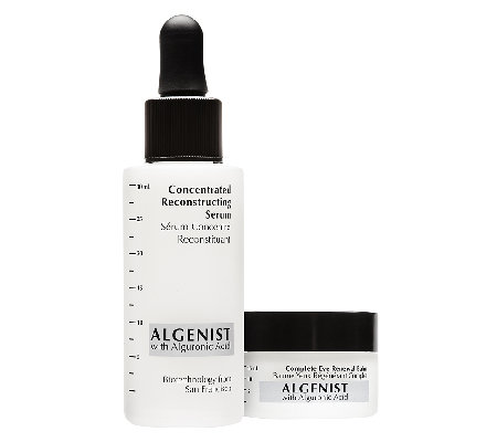 Algenist Concentrated Serum & Eye Renewal Balm Duo